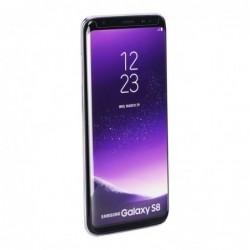Verre trempé Galaxy S8 noir contour intégral 5D bords incurvés 9H