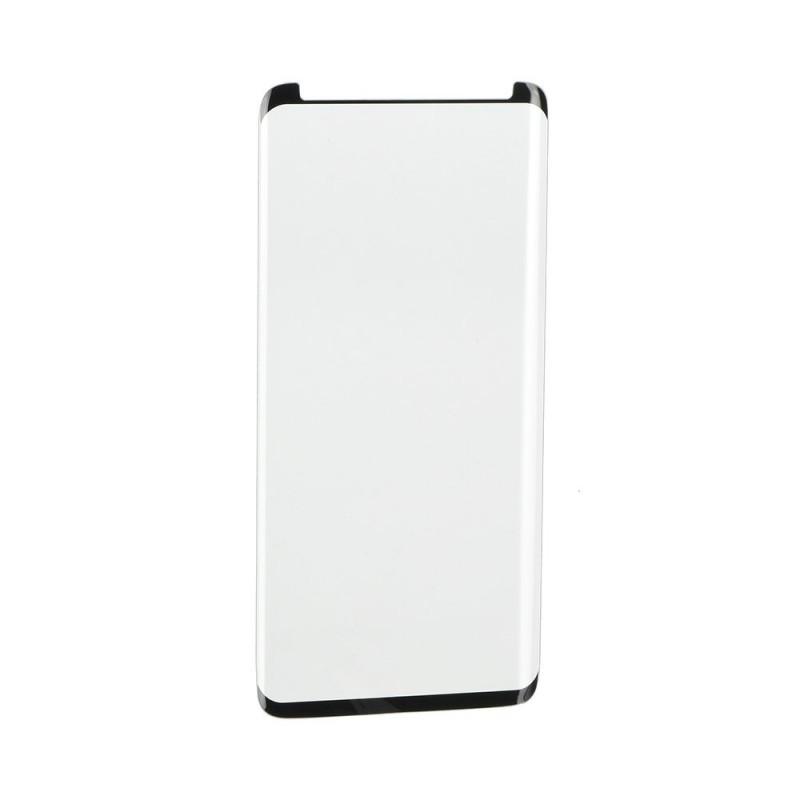 Verre trempé Galaxy Note 9 noir contour intégral 3D bords incurvés 9H