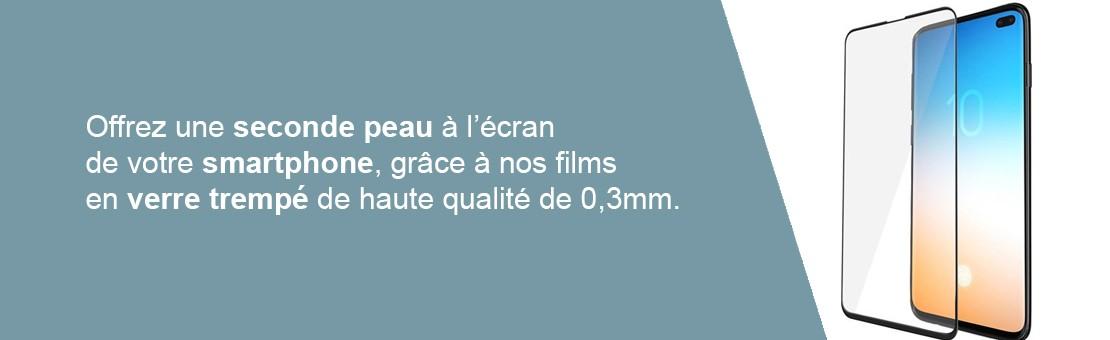 Film de protection en verre trempé fin de 0,33mm seulement